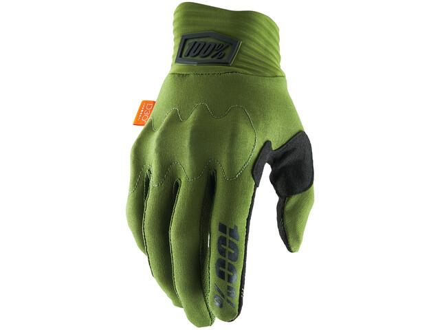 100% Cognito Gloves army green/black